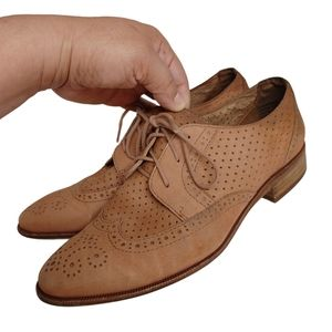Madewell Belinda Perforated Oxford Shoes Size 8